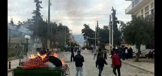 Сблъсъци между полиция и роми