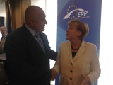Picture: Ангела Меркел пожела на Бойко Борисов успех на изборите