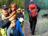 Picture: Чудо – тригодишно дете оцеля 11 дни в тайгата