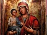 Picture: Троянският манастир изнася за поклонници чудотворната икона на Богородица - Троеручица