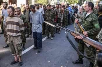 украинските военнопленници