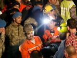 Двама от стачкуващите миньори са откарани в болница