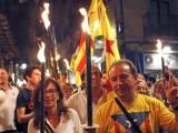 В Барселона демонстрират хиляди заради независимостта на Каталуния