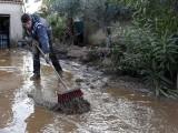 Силна буря наводни южна Франция