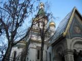 Тържествена литургия в Руската църква в София