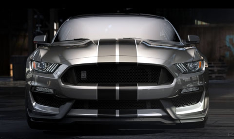най - мощния атмосферен Mustang