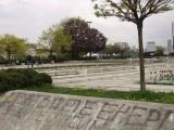 Ремонтът на парка около НДК