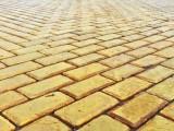 жълти павета
