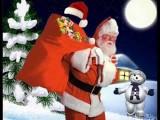 Picture: Дядо Коледа и Дядо Мраз се срещнаха навръх Рождество Христово