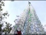 елха от пластмасови бутилки в Мексико