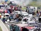 Picture: Катастрофа в Гърция – сблъсък на 35 автомобила
