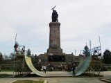 Picture: Сноуборд състезание в центъра на София