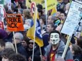 Picture: 24 - часова национална стачка блокира Белгия