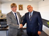 Picture: Посланик Алън: Борисов е уникален премиер!