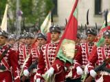 Picture: Богоявленския водосвет на бойните знамена на българската армия