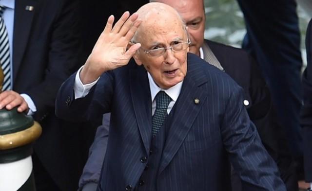 италианският президент Джорджо Наполитано