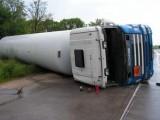 Picture: Магистрала Тракия остана блокирана за часове от тежък камион