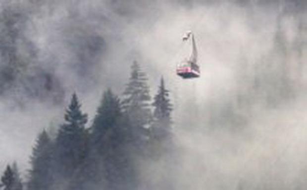 Туристи мръзнат в развален лифт в канадски курорт