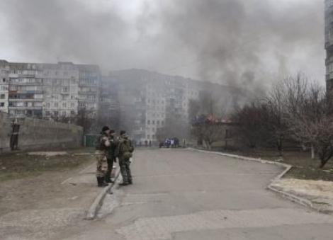 Украйна арестува виновник за обстрела в Мариупол