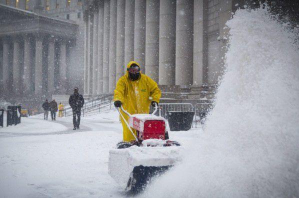 200 милиона долара са икономическите загуби на Ню Йорк от снежните бури