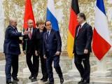 лидерите на Украйна, Русия, Франция и Германия