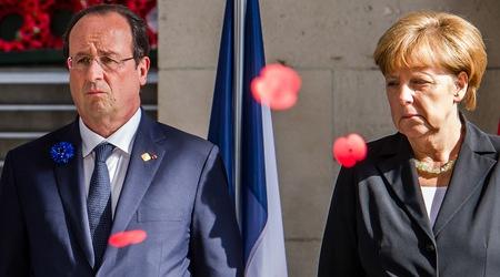 Меркел и Оланд