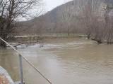 Река Тунджа наводни Елхово