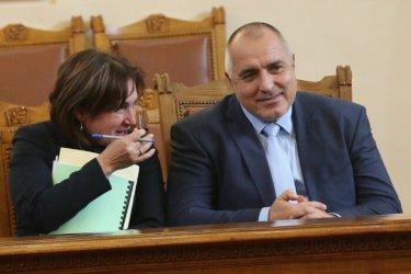 Премиерът предложи Румяна Бъчварова за МВР - шеф, Писанчев и Лазаров ще бъдат сменени