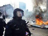 Picture: Бунтове и палежи пред централата на ЕЦБ във Франкфурт