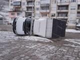 Леден ураганен вятър удари Москва