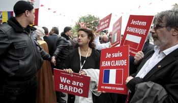 Хиляди тунизийци на протест срещу тероризма