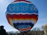Picture: Балон на УНИЦЕФ в София напомня за правата на децата