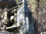 Picture: Камион се обърна край Върбишки проход, загина жена 25 са ранени