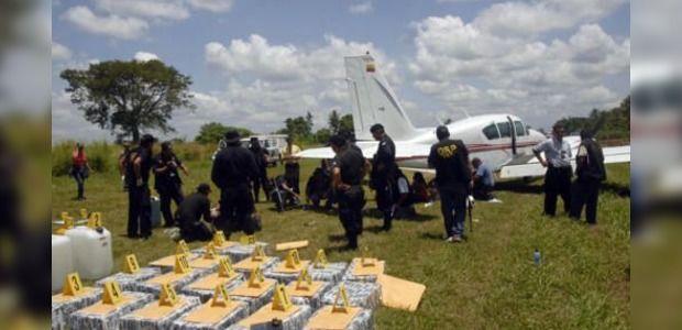 Един тон кокаин падна от небето