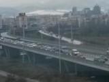 Picture: Пътят към столичното летище остава блокиран за великденските празници