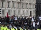 Демонстрация на PEGIDA в Лондон