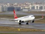 Самолет се приземи в Турция с горящ двигател
