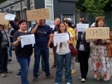 Протест на журналисти от Националното радио заради заплати