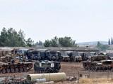 Picture: ТУРЦИЯ СТРУПВА ВОЕННА ТЕХНИКА НА ГРАНИЦАТА СЪС СИРИЯ