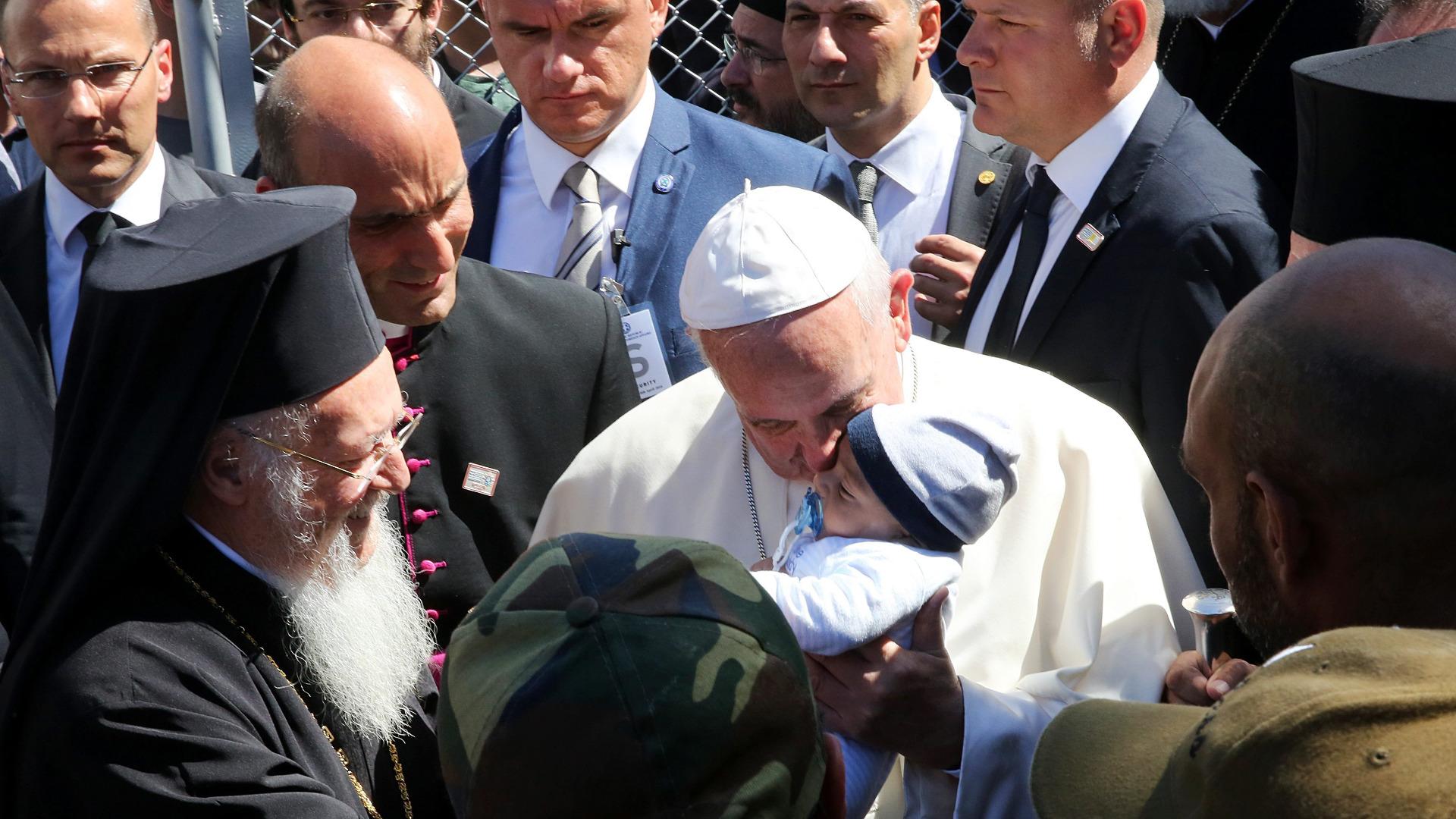 Papa Patriarh Lesbos bgnes