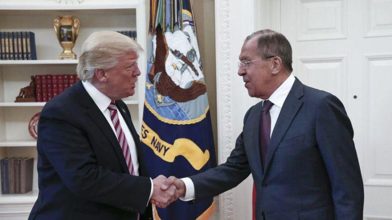 Trump Lavrov bgnes