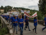 протестно шествие по улиците на Вонеща вода