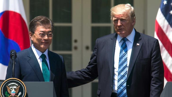 Trump Yujna Koreya bgnes