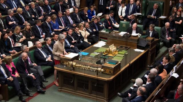 Britasnki parlament reuters