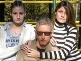 Дими с дъщерите си