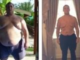 Picture: Мъж отслабна със 144 килограма само за 1 година
