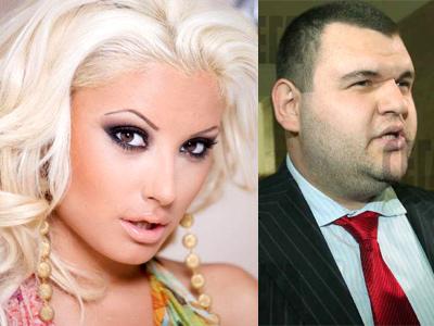 Цвети Янева и Делян Пеевски