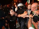 Picture: Каква е ИСТИНАТА за ранената полицайка от протестите?!
