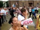 Picture: Дансwithme 75: Бой между протестиращи беляза 75-ия ден на протестите!