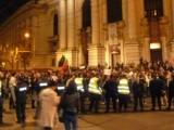 Picture: Студентите блокираха кръстовището пред Софийския университет